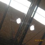 Doppio magazzino prefabbricato del blocco per grafici d'acciaio dell'indicatore luminoso del pendio per l'Etiopia
