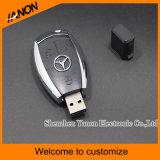 Car Key Shape Plastic USB Flash Drive