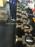 De Vleugelklep van het Type van Handvat van het Brons C95800 van het aluminium (D7L1X-10/16)