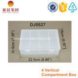 4 compartimento vertical Clear Box