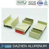 Profil en aluminium en aluminium pour la couleur personnalisée par porte de guichet du Nigéria