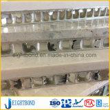 中国の工場20mm建物の壁のための石造りアルミニウム蜜蜂の巣のパネル