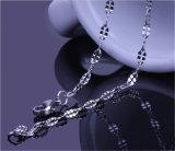 Collier de la languette des femmes à la mode d'acier inoxydable de bijou de Shineme (SSNL2639)