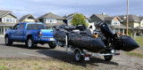 Hypalon Pesado Barco de Pesca Militar (FWS;-série ML)