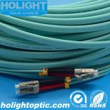 LC à LC de cordons de brassage à fibres optiques de 10g