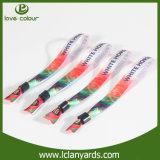 Низкая цена персонализировала Wristband способа конструкции ткани рефлекторный