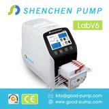 Нагнетать трубопровода силикона Shenchen перистальтический насоса V6-3L переноса постного масла