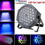 36pcs etapa LED 1W de luz par efecto DMX512 DJ Disco Bar de la luz de fiesta