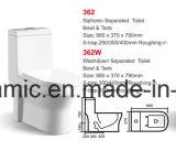 362W Saso genehmigte, preiswerte Ganzwäsche-Einteiler-Toilette