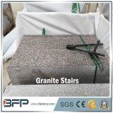 L'étage et les escaliers de granit du granit roses les meilleur marché G687 G664 pour des prix d'escaliers de granit