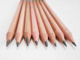 Crayon en bois de liège avec gomme Hb Pencil Crayon en bois naturel