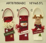 Feliz Navidad muñeco de nieve decoración la decoración del hogar Santa Corona -3Asst.