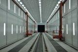 elevación tridimensional del hombre para la cabina industrial de la pintura de la cabina de aerosol