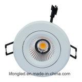 引込められた居間のための5W穂軸LED Downlightを埋め込みなさい