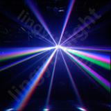 Indicatori luminosi cambianti della fase di natale della stella di caduta di colore DMX RGB LED