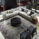 Modernes L Form-Ecken-graue Gewebe-Sofas (F629-1-1)