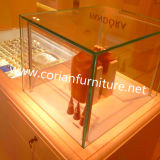 Kabinetten van de Vertoning van de Opslag van de Oppervlakte van Avonite de Stevige Douane Gerangschikte Kosmetische