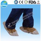 com novo tipo tampa/Overshoes plásticos da faixa elástica da sapata de CPE/PE