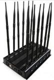 12bands 실내 Omni 안테나 탁상용 이동 전화 GPS 4G 3G 신호 방해기 차단제