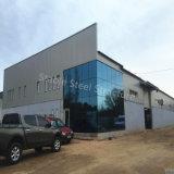 Gruppo di lavoro di riparazione dell'automobile della struttura d'acciaio con l'ufficio