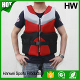 Спасательный жилет морского неопрена пены Workwear застежки -молнии плавая (HW-LJ025)