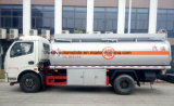 Dongfeng 4*2 6000 litros de depósito de gasolina 7000 L carro del transporte del petróleo