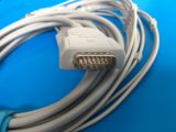 Cable de GE-Marquette 15pin Aha 4.0banana EKG/ECG