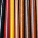 Couro sintético do PVC do plutônio do preço de fábrica para o sofá da mobília
