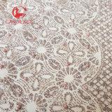 Tessuto bello del merletto della rete di scintillio per la signora Dress