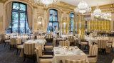 Het Dineren van het leer het Moderne Restaurant van de Stoel