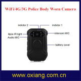 Câmara junto ao corpo de polícia com WiFi / Bluetooth / 4G / 3G / GPS