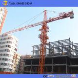 中国4tのタワークレーン48mのジブQtz40-4808のタワークレーン
