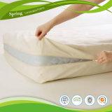 Protector impermeable respirable del mismo tamaño del colchón