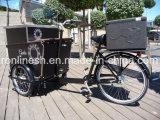 電気250With350With500Wはまたは3つの車輪の貨物バイクか貨物Trikeまたは貨物三輪車またはアイスクリームロール三輪車または貨物自転車またはアイスクリームロール配達バイクペダルを踏む