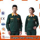 L'usure faite sur commande de travail de logo place les vêtements de travail uniformes unisexes de STATION THERMALE de vêtement de travail
