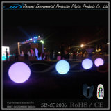 Indicatore luminoso esterno variopinto della sfera del giardino di IP68 LED