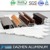 Profil en aluminium de constructeur en aluminium pour la porte de guichet