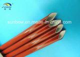 силиконовая резина втулки стеклоткани сопротивления пламени 10kv Coated