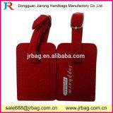 Étiquette en gros de bagage de feutre de coutume pour Promotionial ou hôtel