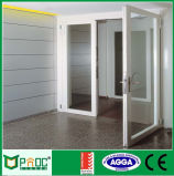 Portes en alliage à double battage en aluminium arche Pnoc0018cmd