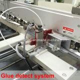 Dobrador automatizado Gluer da instalação com memória do trabalho