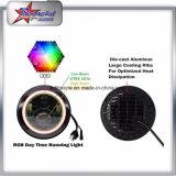 Новая конструкция 7 фара RGB DRL СИД Wrangler виллиса дюйма круглая с управлением Bluetooth