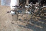 Filtro del tamiz del duplex del acero inoxidable para el jugo
