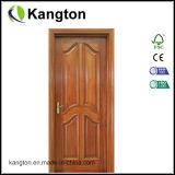 Pintura sólida de madera de caoba de la puerta de entrada ( puerta de entrada )
