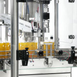 3 en 1 máquina de etiquetado de relleno de enjuague de la presión que capsula