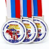 Medalla barata del metal de la fábrica con el diseño de encargo de Weighlifting