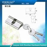 De alta calidad de aleación de aluminio de la cerradura de puerta / Cilindro de bloqueo / bloqueo de teclas 004