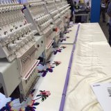 4 바느질 자수 기계 Wy904c를 만드는 헤드 9 바늘 t-셔츠