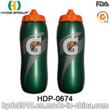 La bicicletta BPA libera la bottiglia di sport della plastica, bottiglia corrente di sport della plastica (HDP-0674)