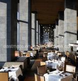 Cadeira de jantar de couro Restaurante moderno